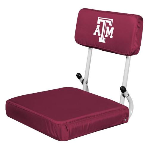 Texas A&M Aggies Hard Back Maroon Seat