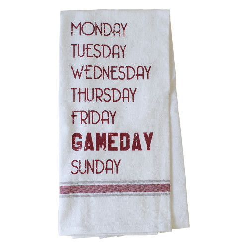 Texas A&M Aggies Gameday Of The Week Hand Towel