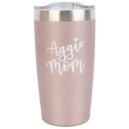 Aggie Mom Ice Rose Tumbler