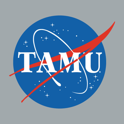 Texas A&M Aggies 5 x 4.5 TAMU Space Circle Decal