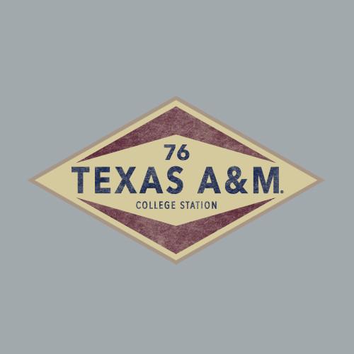 Texas A&M Aggies 6 x 3.5 Diamond Decal