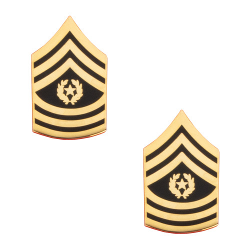 Texas A&M Corps of Cadets Army Command SGT MAJ Chevron Rank