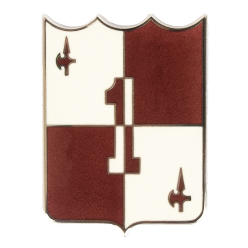 Texas A&M Corps of Cadets 1st Regiment Shield