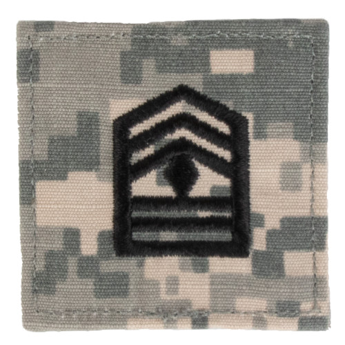 Texas A&M Corps of Cadets 1st Sergeant ACU Rank Pair
