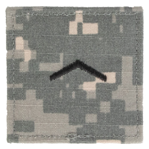 Texas A&M Corps of Cadets Private ACU Rank Pair
