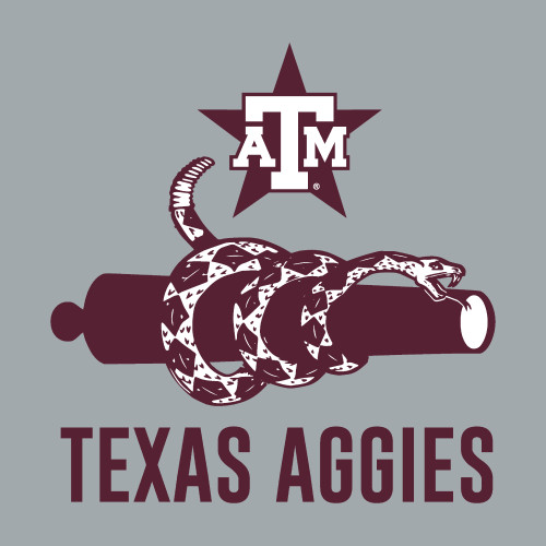 TX Ags Snake Cannon Decal
