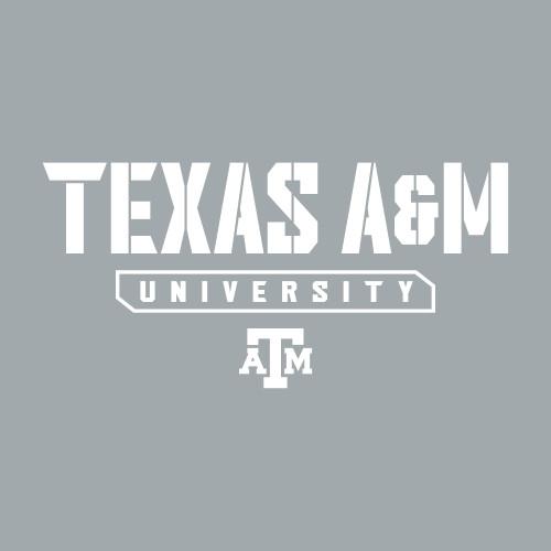 TX AM Univ Stencil Decal