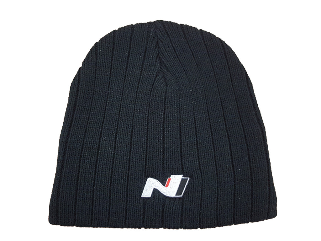 N Series Black Beanie - One Size i30N N Performance - Part no. HY63641NSBB