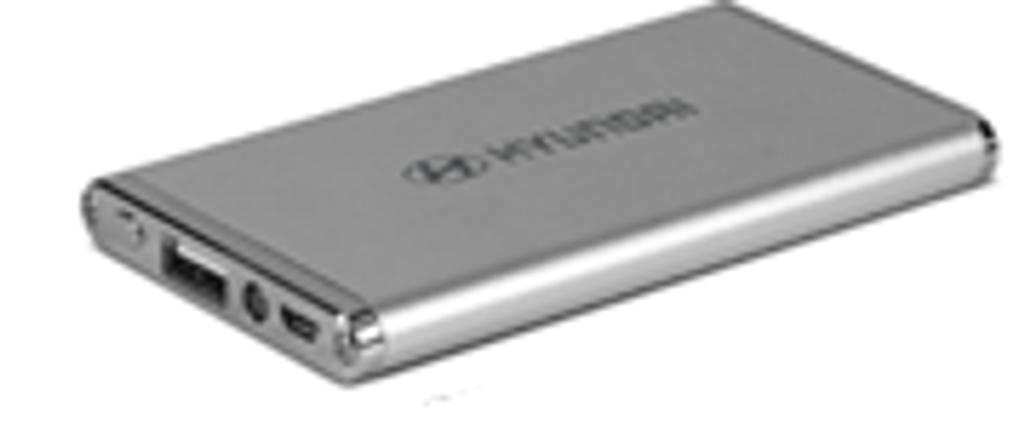 Hyundai Pulse Power Bank with Flashlight - Part no. HY63445HYSPB