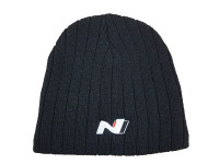 Hyundai N Series Black Bennie - One Size - Official Merchandise - Part no. HY63641NSBB