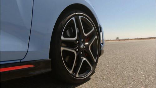 "19"" Veloster N Wheel - Part no. HY52910K9100"