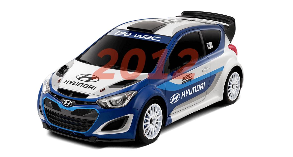 Hyundai WRC 2012