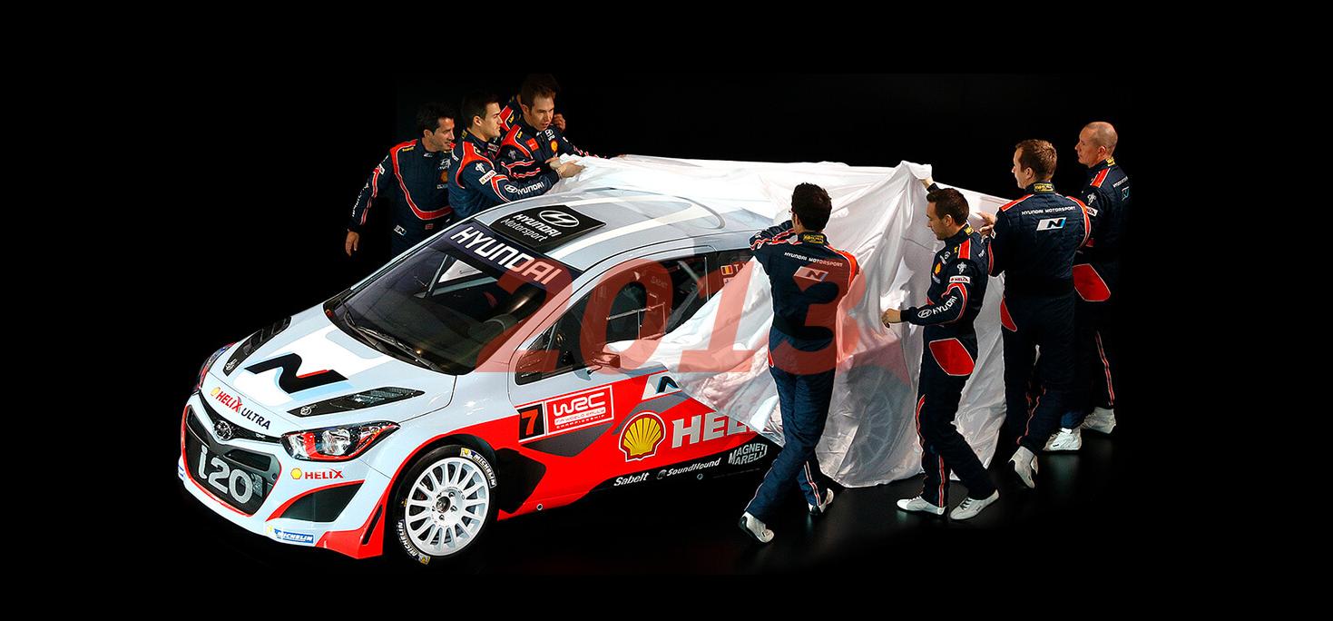 Hyundai WRC 2013
