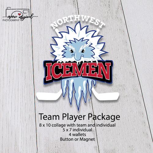 TEAM PLAYER-NW ICEMEN