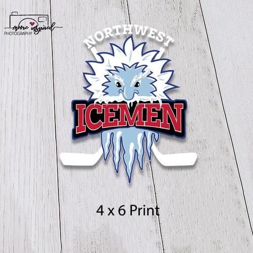 4 X 6 PRINT - NW ICEMEN