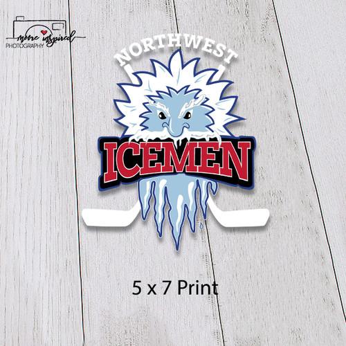 5 X 7 PRINT NW ICEMEN