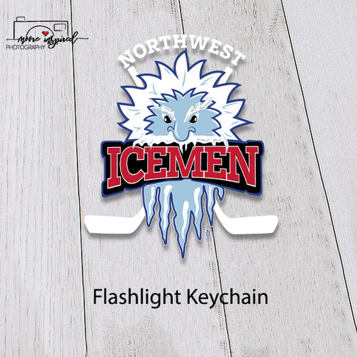 FLASHLIGHT KEY CHAIN NW ICEMEN