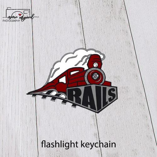 FLASHLIGHT KEYCHAIN SPOONER TRACK