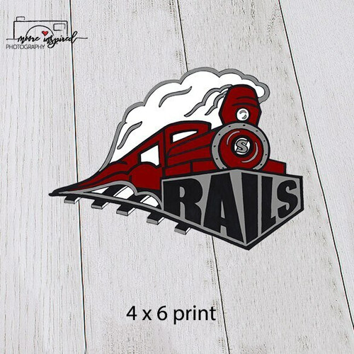 4 X 6 PRINT - SPOONER BASEBALL