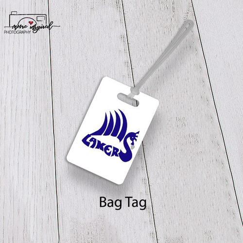 BAG TAG SHELL LAKE-BASEBALL