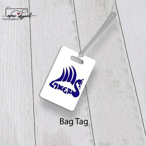 BAG TAG SHELL LAKE-TRACK