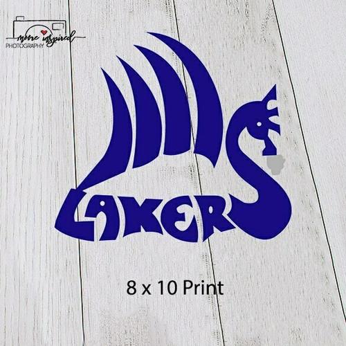 8 X 10 PRINT SHELL LAKE-VOLLEYBALL