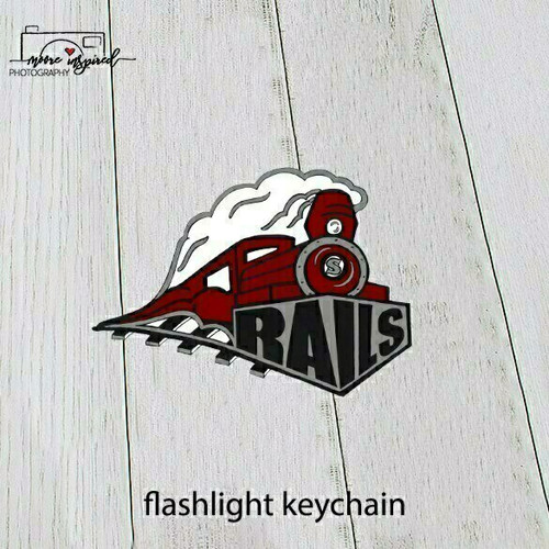 FLASHLIGHT KEYCHAIN SPOONER YOUTH BASEBALL MAJORS