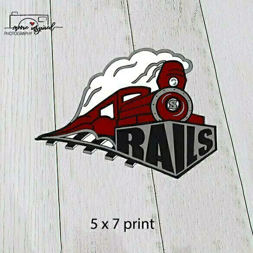 5 X 7 PRINT SPOONER YOUTH BASEBALL T-BALL