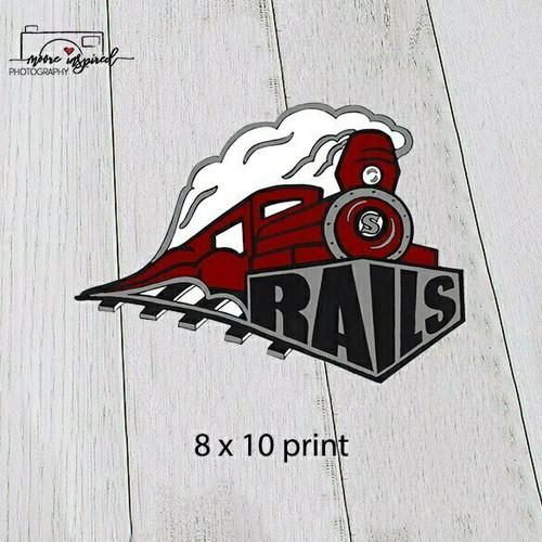 8 X 10 PRINT SPOONER YOUTH BASEBALL T-BALL