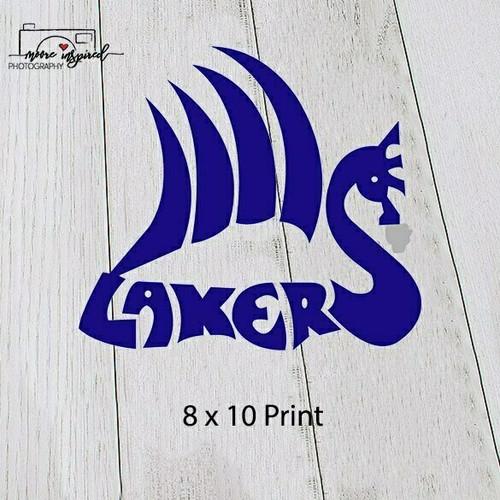 8 X 10 PRINT SHELL LAKE-SOFTBALL 3-4TH GRADE