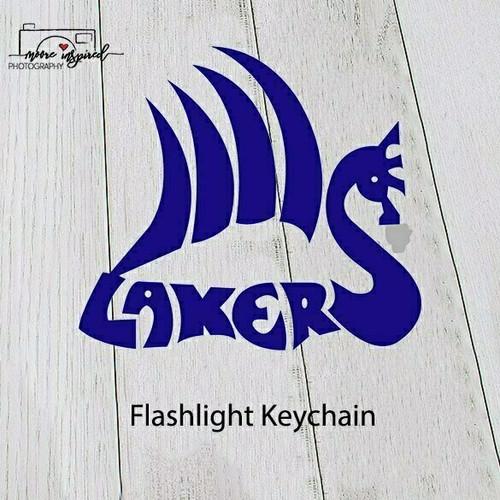 FLASHLIGHT KEY CHAIN SHELL LAKE-SOFTBALL 5-6TH GRADE