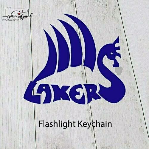 FLASHLIGHT KEY CHAIN SHELL LAKE-SOFTBALL 7-8TH GRADE