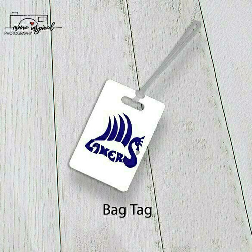 BAG TAG SHELL LAKE-YOUTH BASEBALL MARCOUX