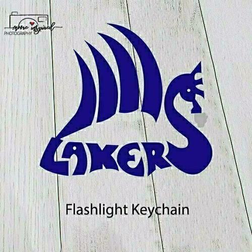 FLASHLIGHT KEY CHAIN SHELL LAKE-YOUTH BASEBALL EMERSON