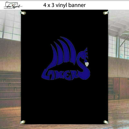 VINYL BANNER SHELL LAKE-YOUTH BASEBALL HALL