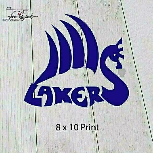 8 X 10 PRINT SHELL LAKE-YOUTH BASEBALL BANTAMS