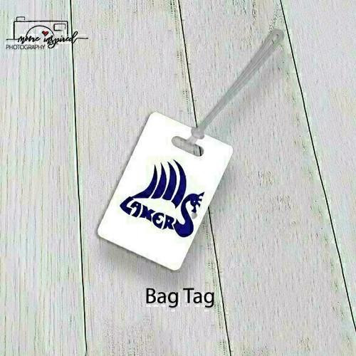 BAG TAG SHELL LAKE-YOUTH BASEBALL BABE RUTH