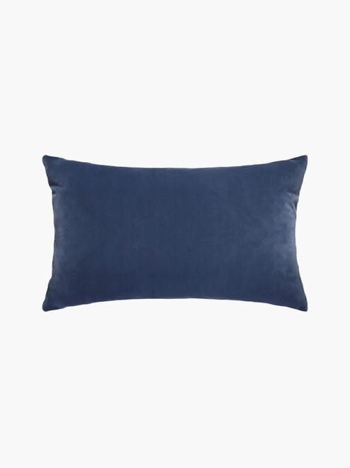 Etro StormMini Cushion, Velvet & Linen