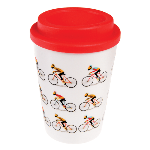 REX LONDON Le Bicycle Reusable Travel Mug