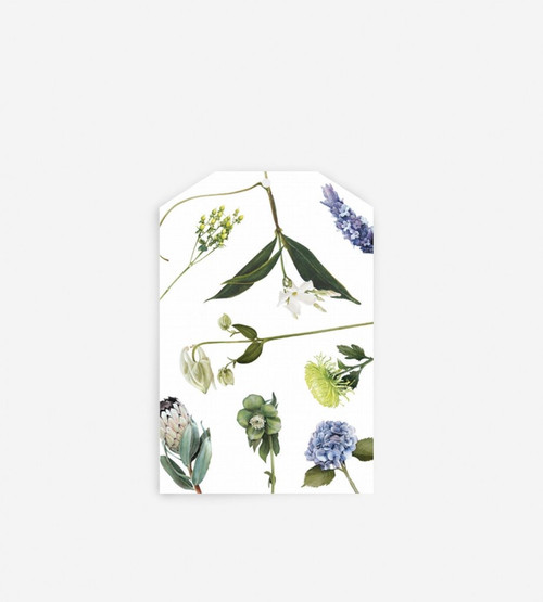 FATHER RABBIT STATIONERY GIFT TAG | FLOWERS