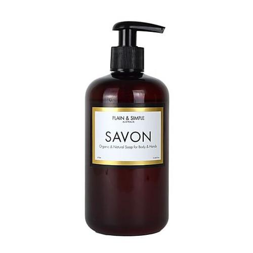 Plain & Simple - Mediterranean Fig Savon – Hand & Body Wash