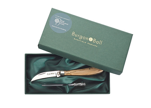 Burgon & Ball RHS Compact Pruning Knife Gift Set