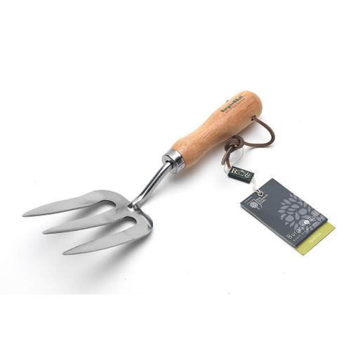 Burgon & Ball RHS Stainless Hand Fork Gardening Tool