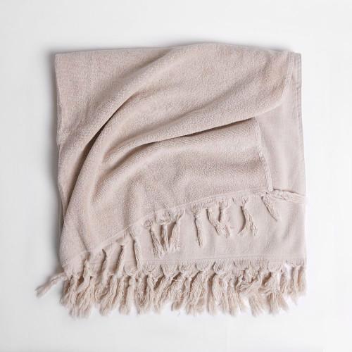 Saarde Vintage Wash Clay Towel