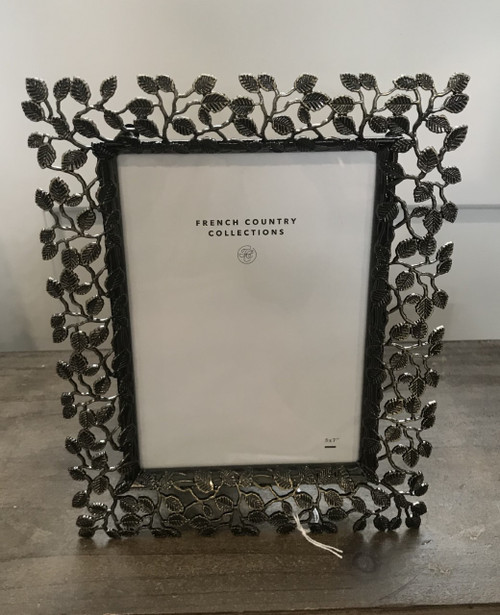 FRENCH COUNTRY Brass Vines Photo Picture Frame