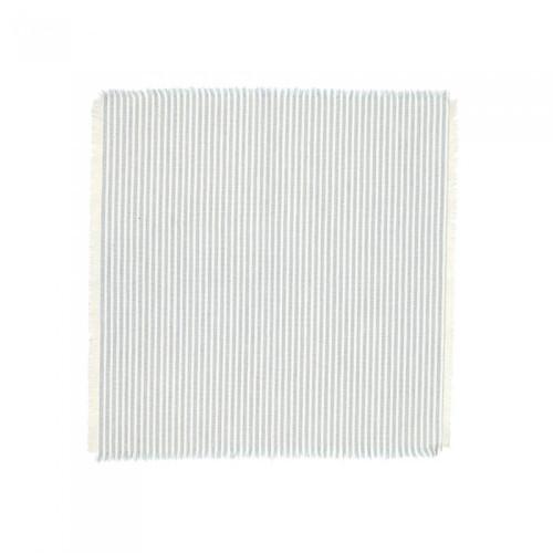 Raine & Humble Abby Stripe Napkin Set of 4 Pale Blue