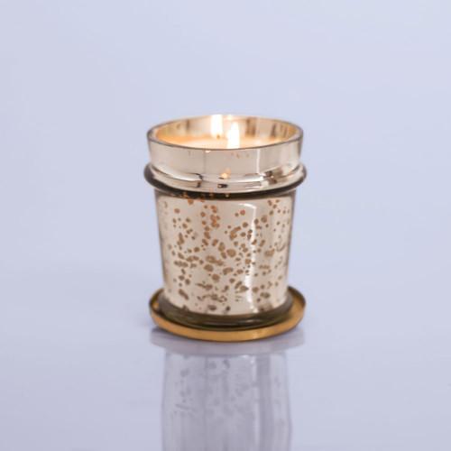 Capri Blue Volcano Candle in Mercury Found Glass Vessel, 8 oz