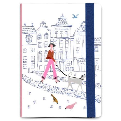 Roger La Borde 'Walk This Way' A5 Journal Notebook