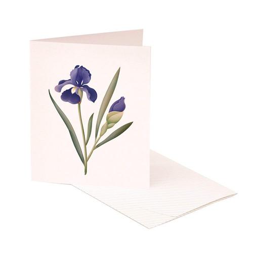 CLAP CLAP SCENTED CARD - IRIS