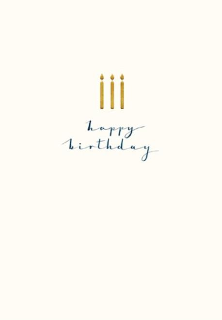 Happy Birthday Candles Beth Lewton - Woodmansterne